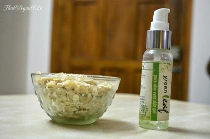 Oatmeal & Aloe Vera Scrub
