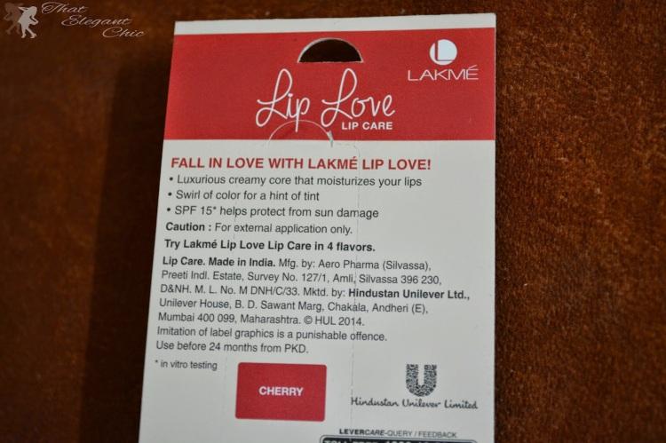 Lakme Lip Love1