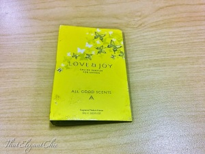 Love and Joy perfume