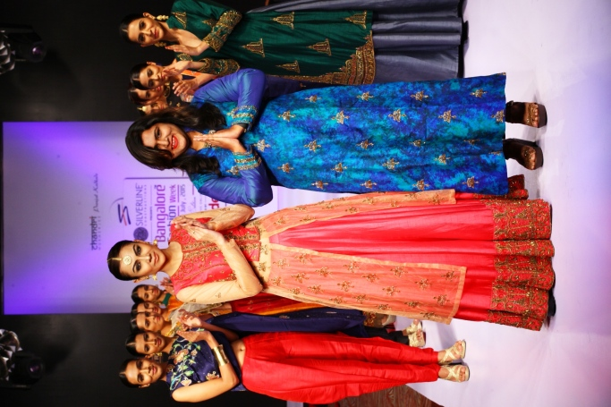 Pranjal Kadkade with models