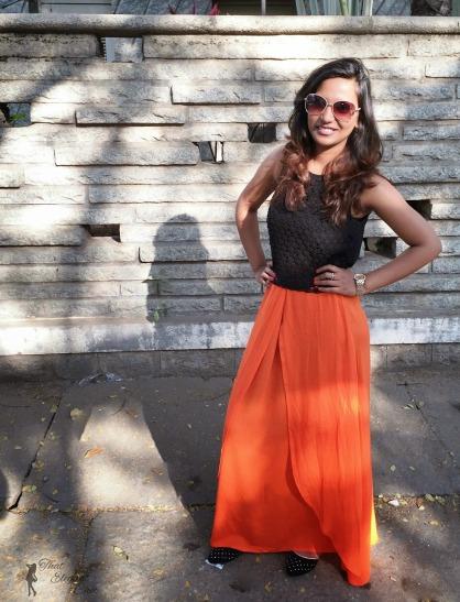 Maxi Skirt & Crop Top 2